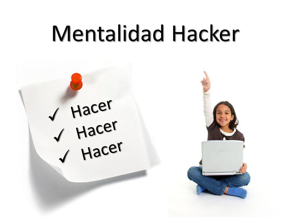 Mentalidad Hacker Hacer Hacer