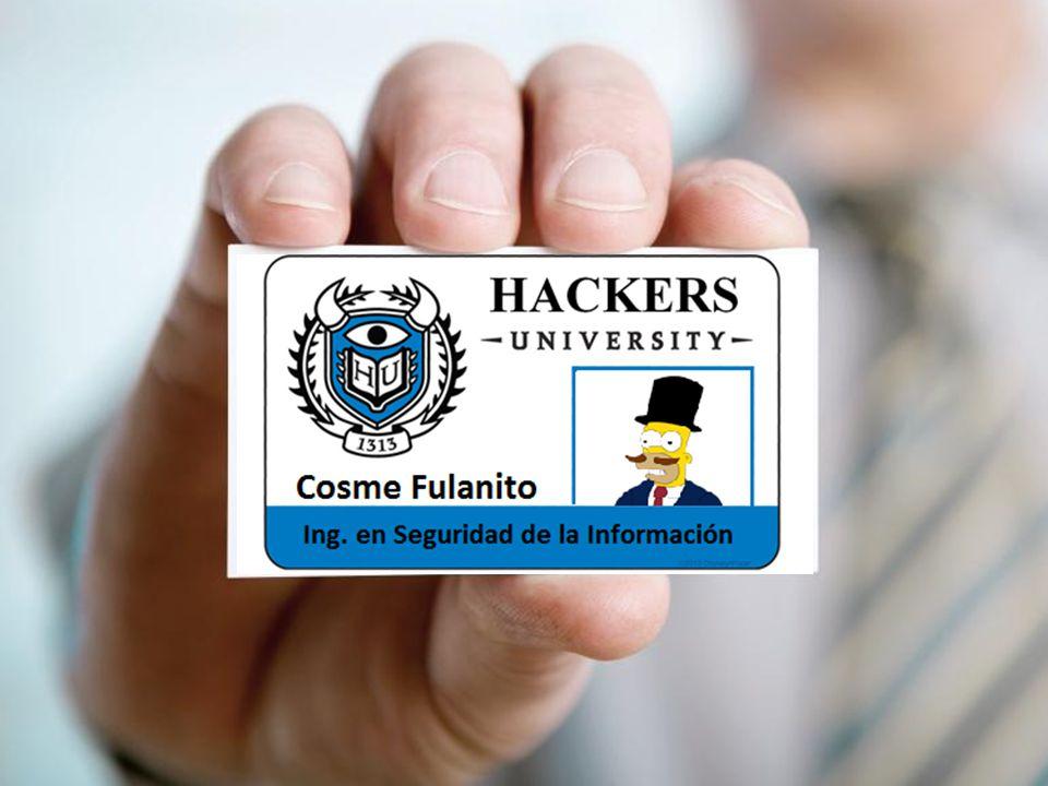 Cosme Fulanito Ing. en Seguridad de la Información