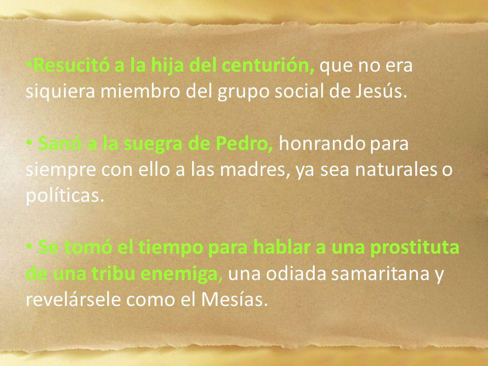La Biblia provee otra historia de restauración, la de una mujer que sufría de una enfermedad que la convertía en paria de la sociedad.