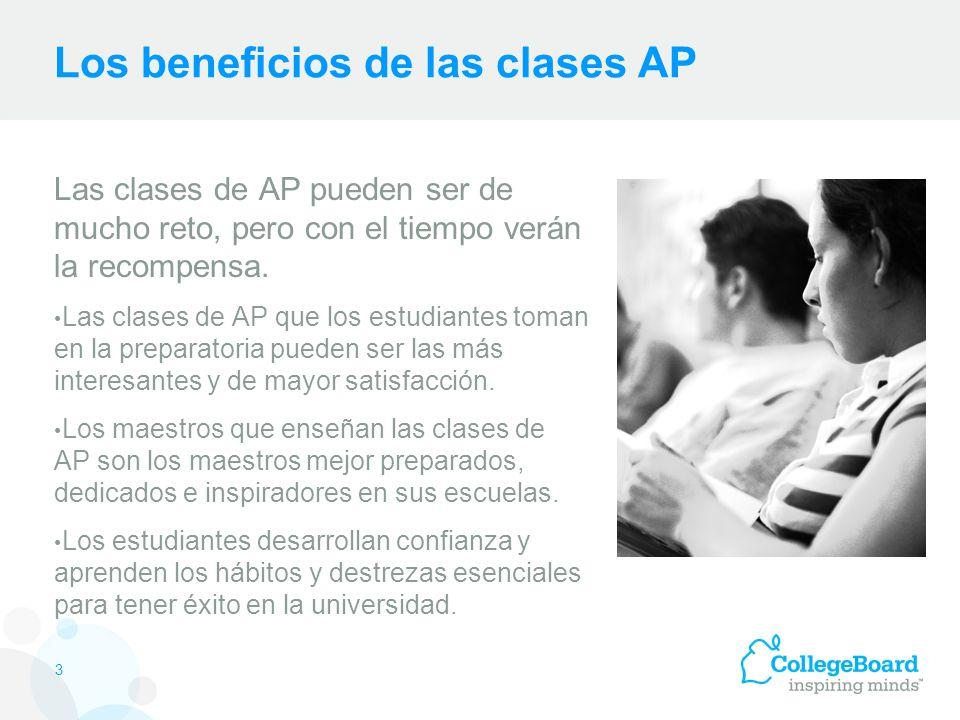 ¿Por qué se debe tomar el examen de AP.