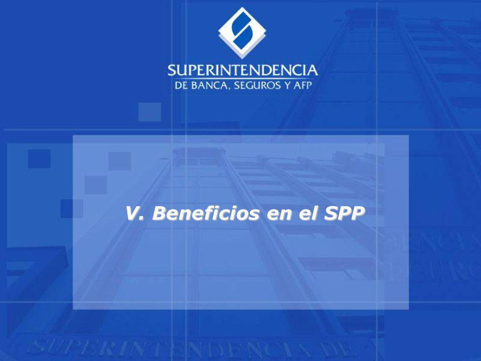 V. Beneficios en el SPP