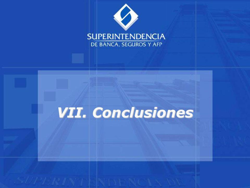 VII. Conclusiones