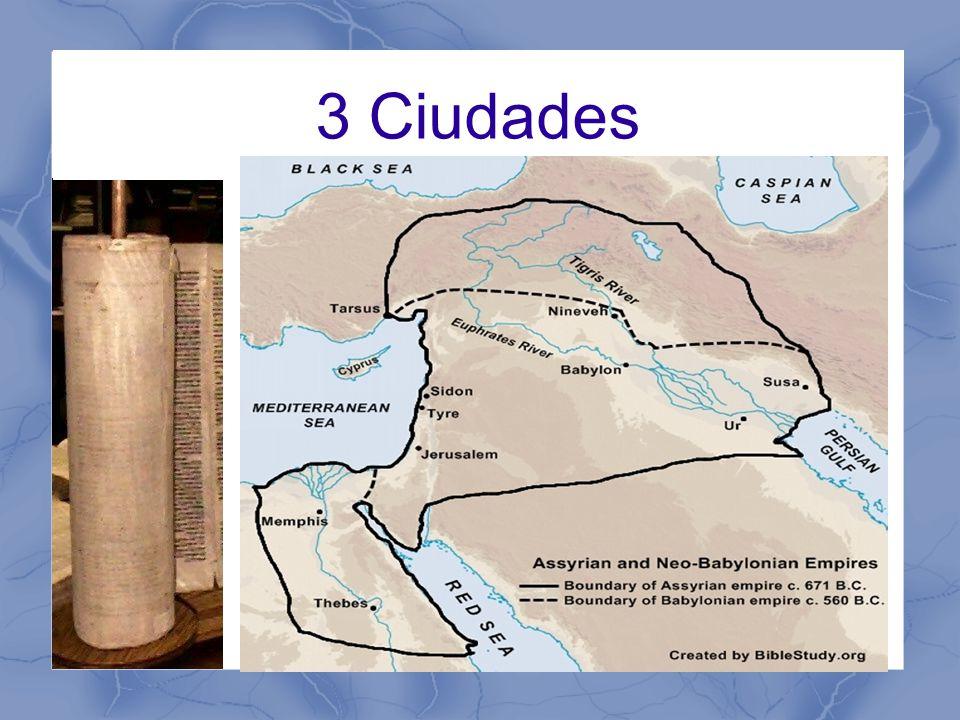 Nínive – Nahúm Jerusalén – Rey Manasés Babilonia – Habacuc