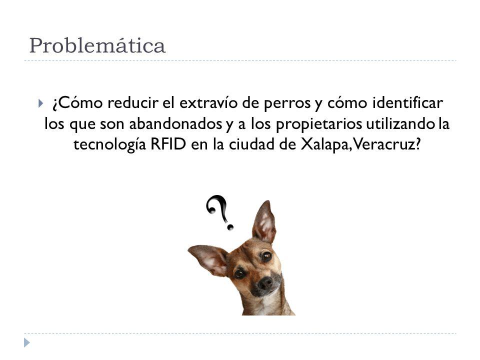 Problemática ¿Cómo reducir el extravío de perros y cómo identificar los que son abandonados y a los propietarios utilizando la tecnología RFID en la c