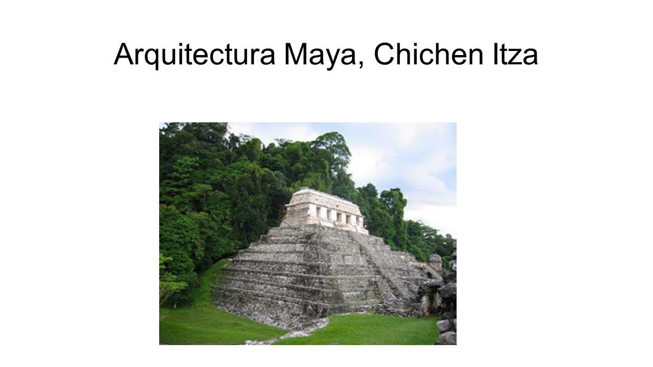 Arquitectura Maya, Chichen Itza
