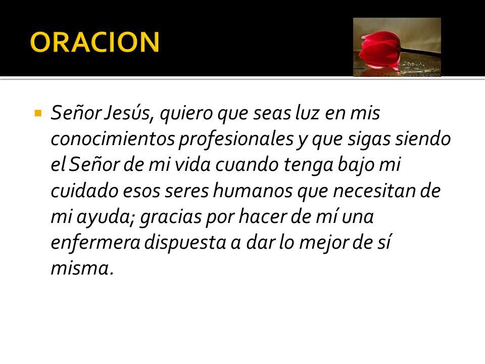 Gracias por ser tú el maestro, mi fuente de inspiración, mi guía, mi Señor.