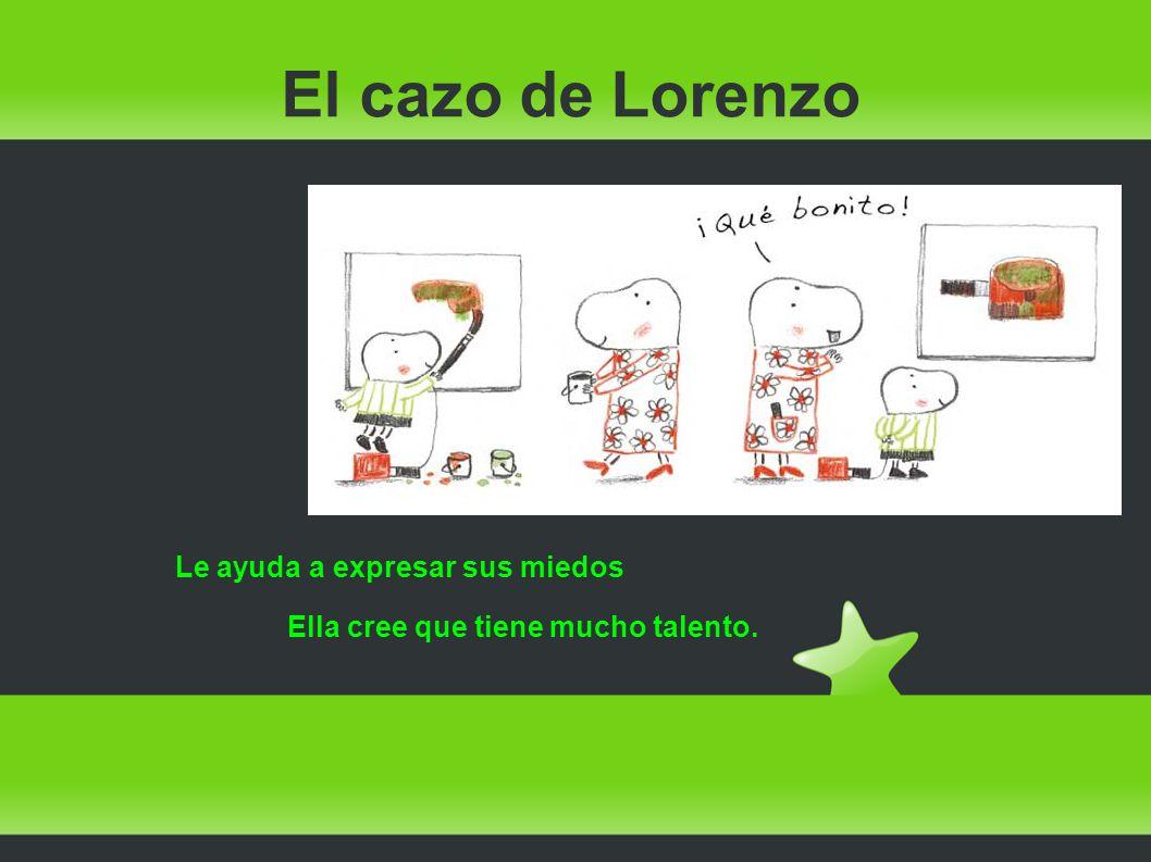 El cazo de Lorenzo Le muestra sus puntos fuertes...,