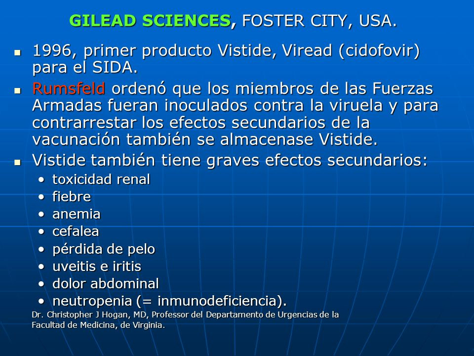 GILEAD SCIENCES, FOSTER CITY, USA.