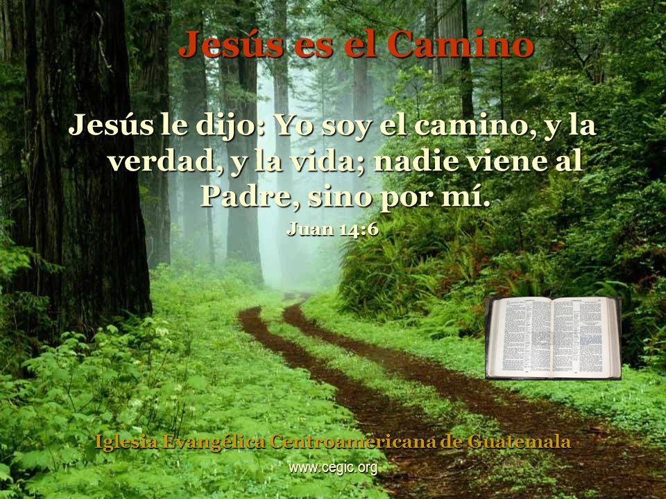 Jesús es el Camino Jesús le dijo: Yo soy el camino, y la verdad, y la vida; nadie viene al Padre, sino por mí.