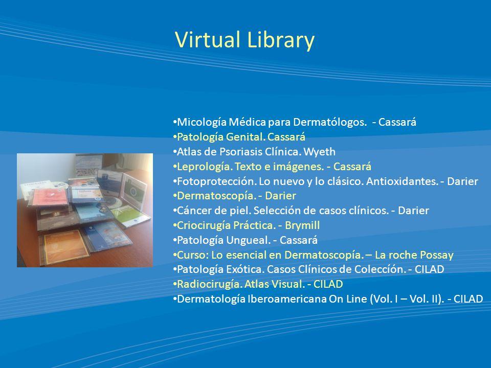 Virtual Library Micología Médica para Dermatólogos.