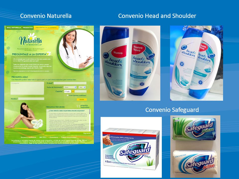 Convenio NaturellaConvenio Head and Shoulder Convenio Safeguard