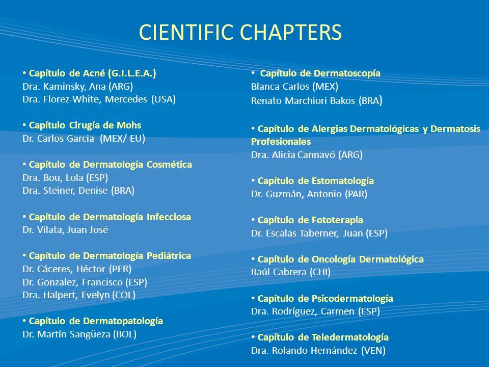 CIENTIFIC CHAPTERS Capítulo de Acné (G.I.L.E.A.) Dra.
