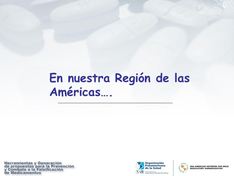 En nuestra Región de las Américas….