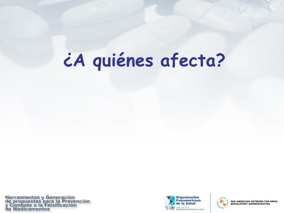 ¿A quiénes afecta?
