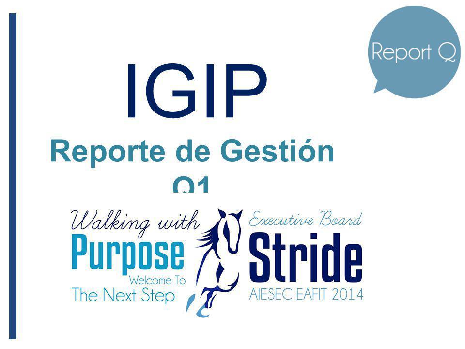 IGIP Reporte de Gestión Q1