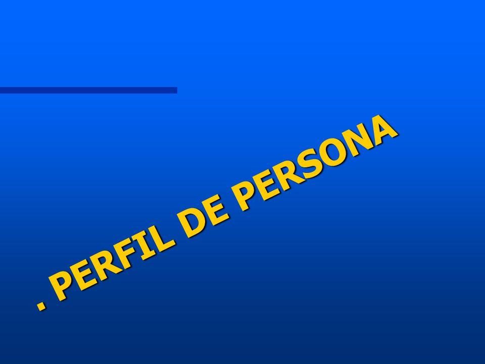 . PERFIL DE PERSONA