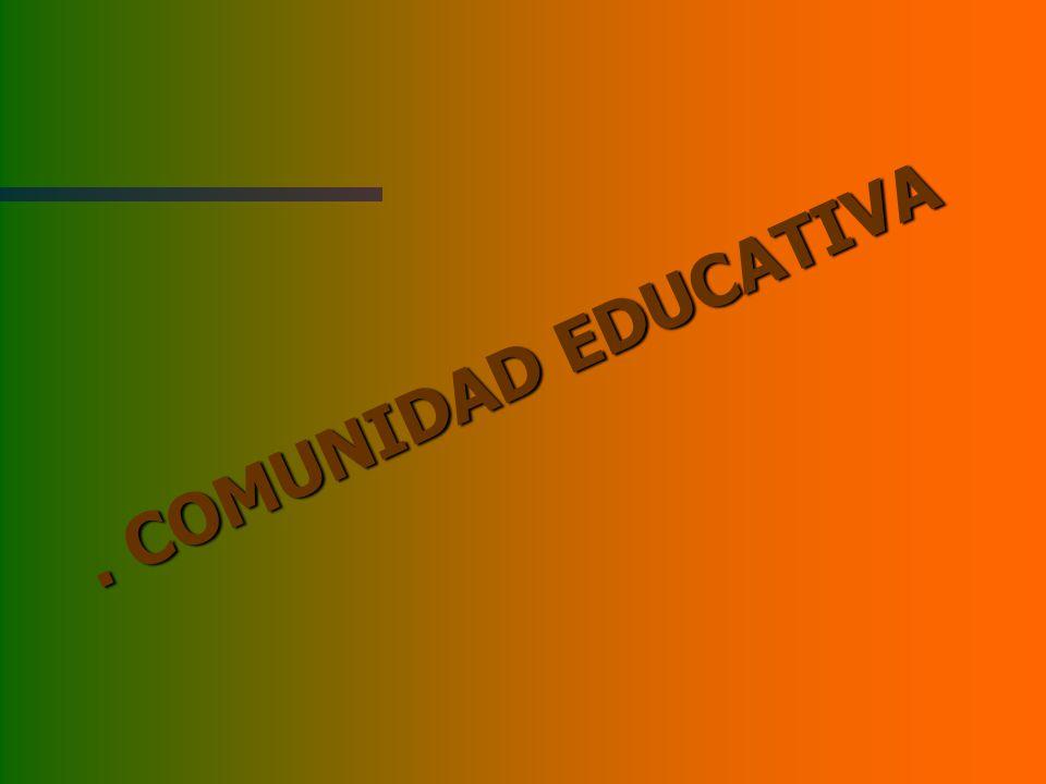 . COMUNIDAD EDUCATIVA