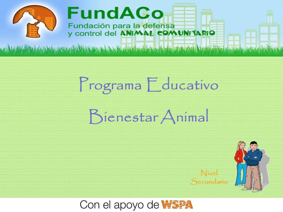 Bienvenidos SOCIOS COMUNITARIOS PARA EL BIENESTAR ANIMAL