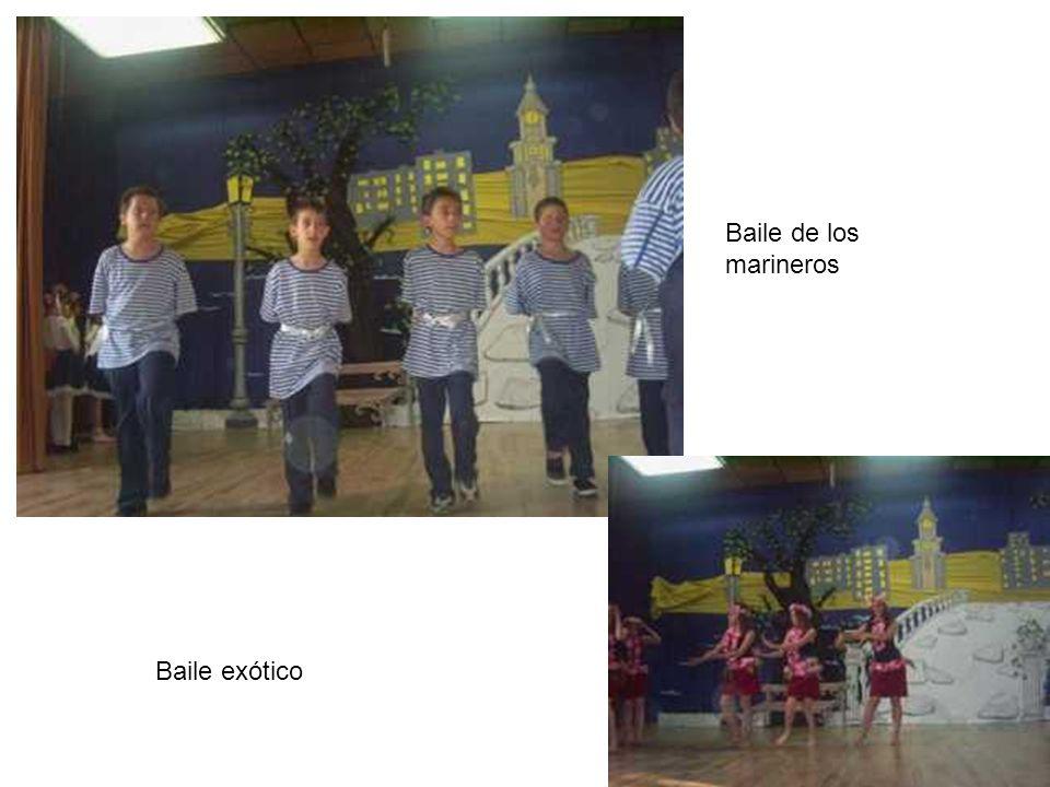 Baile exótico Baile de los marineros