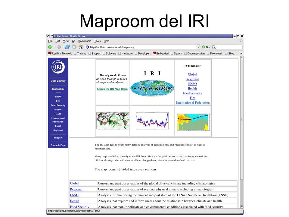 Maproom del IRI