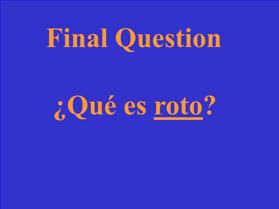 55 Final Answer Me caí de la cama y me duele el brazo. Ahora, tengo el brazo _________.