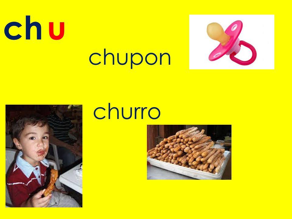 ch u chupon churro