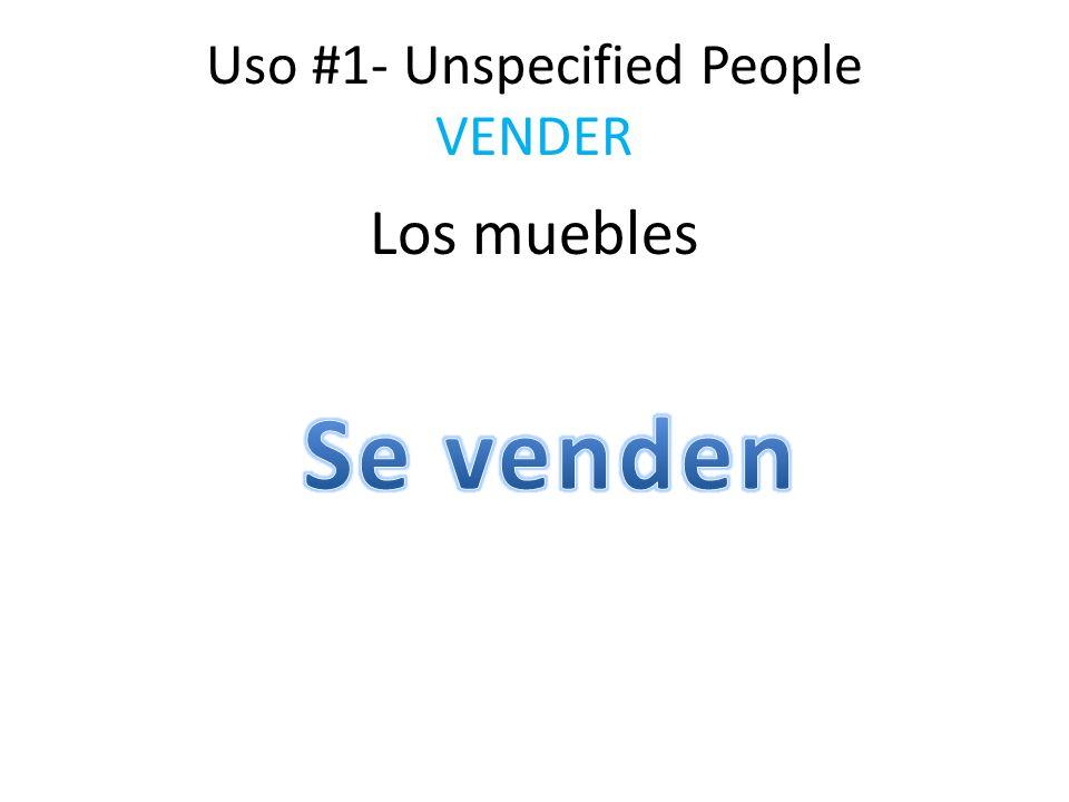 Uso #1- Unspecified People COMPRAR Los gabinetes