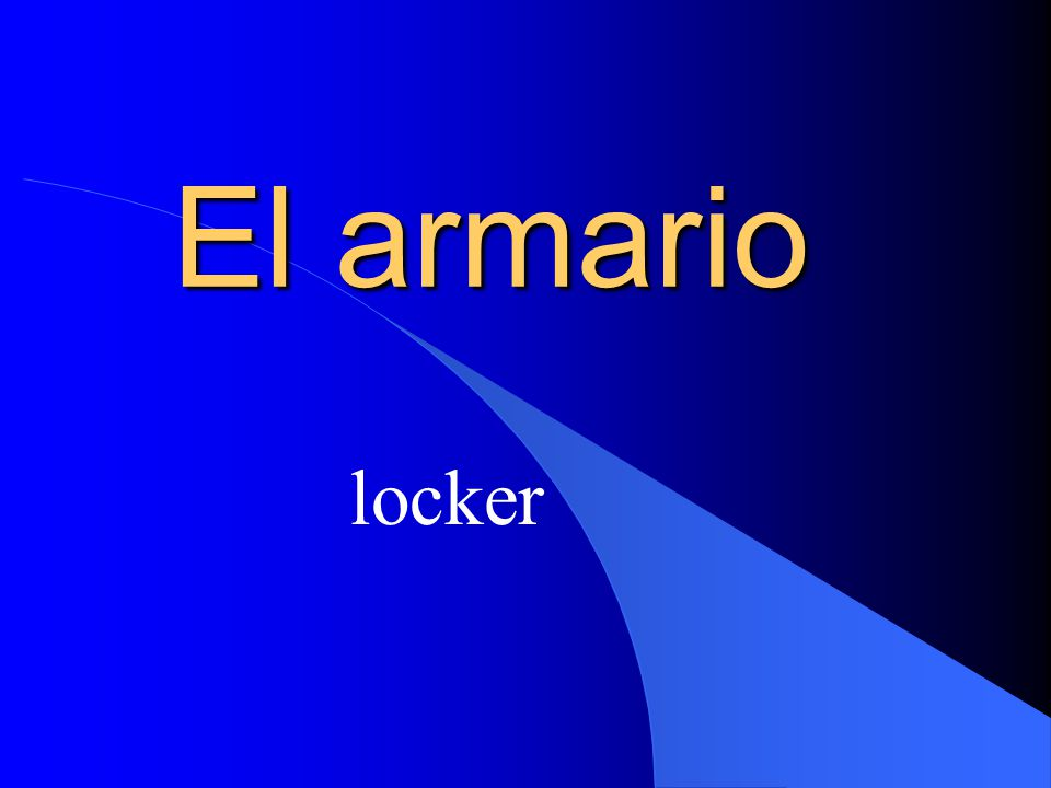 El armario locker