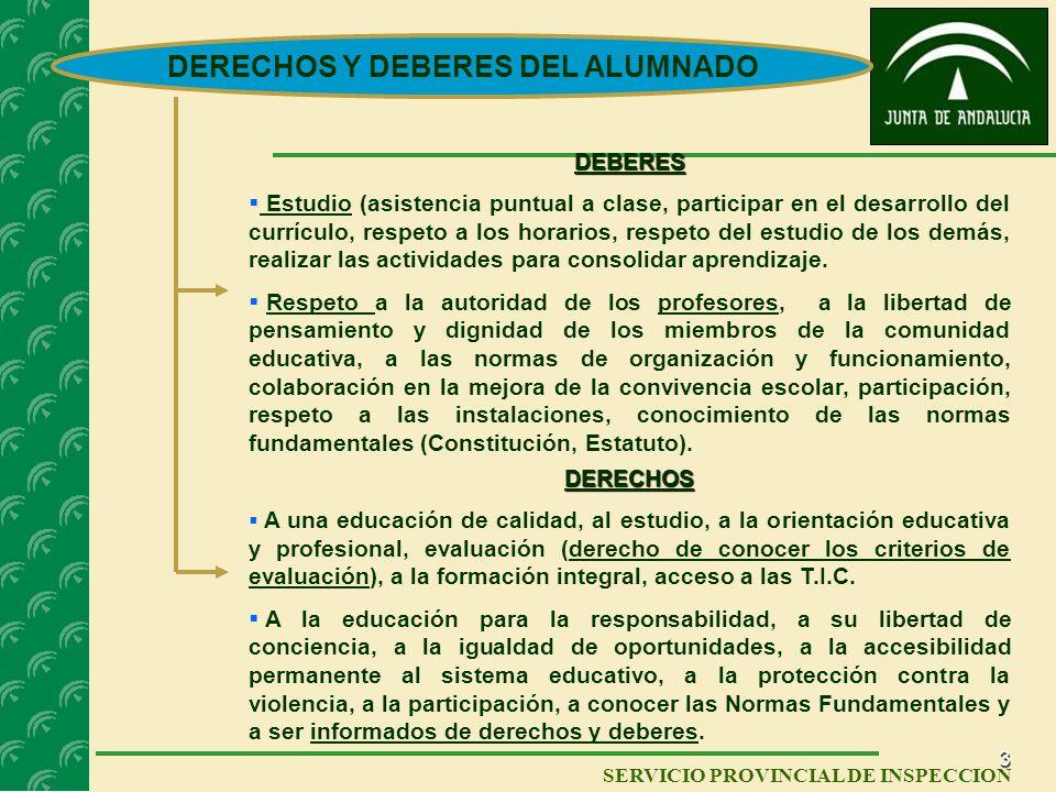 2 SERVICIO PROVINCIAL DE INSPECCIÓN El Nuevo Decreto responde a la nueva realidad social y legislativa surgida a lo largo de los últimos trece años. N