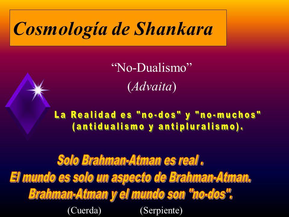 Cosmología de Shankara No-Dualismo (Advaita) (Cuerda)(Serpiente)