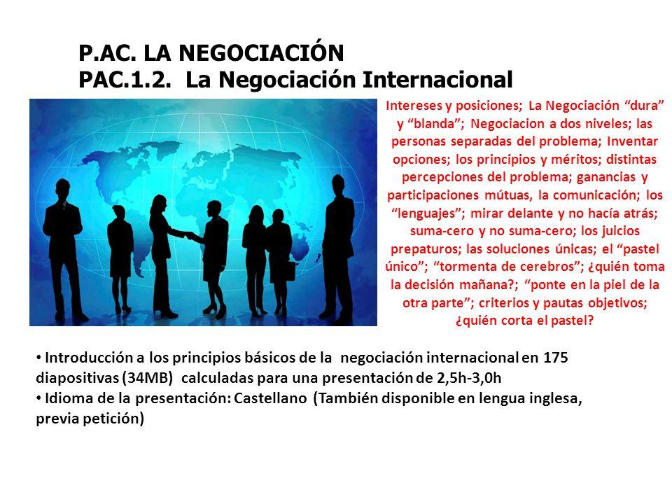 P.AC.LA NEGOCIACIÓN PAC.1.2.