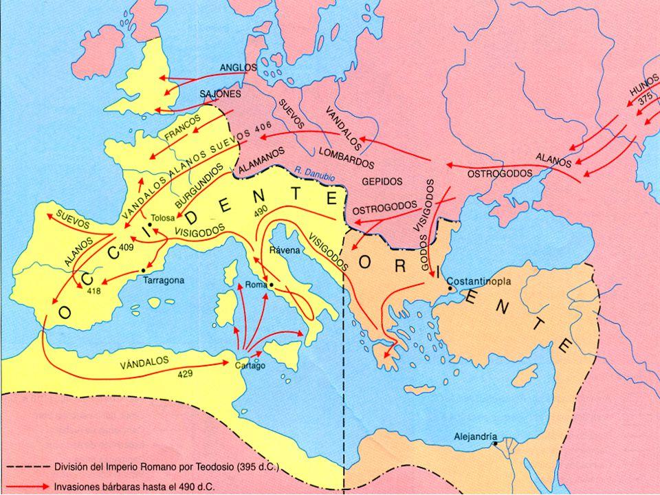 LA CAÍDA DEL IMPERIO ROMANO - Causas Internas: a)Desgobierno y falta de autoridad.