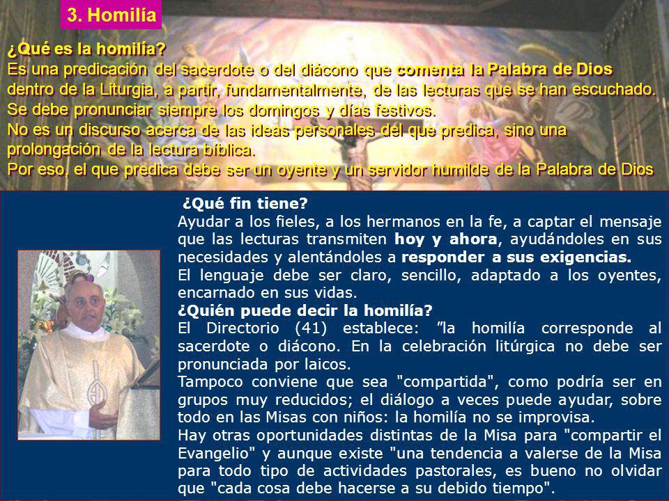 Evangelio El diácono o el sacerdote lee el Evangelio, que los fieles escuchan de pie