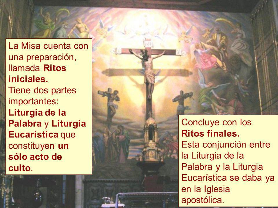 Liturgia de la Palabra y Liturgia Eucarística La Misa, paso a paso Texto extraído de la Página http://www.conelpapa.com