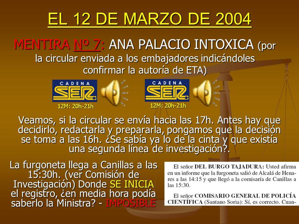 EL 12 DE MARZO DE 2004 1.- Tómese cualquier edición del Corán en Castellano y ya está traducido.