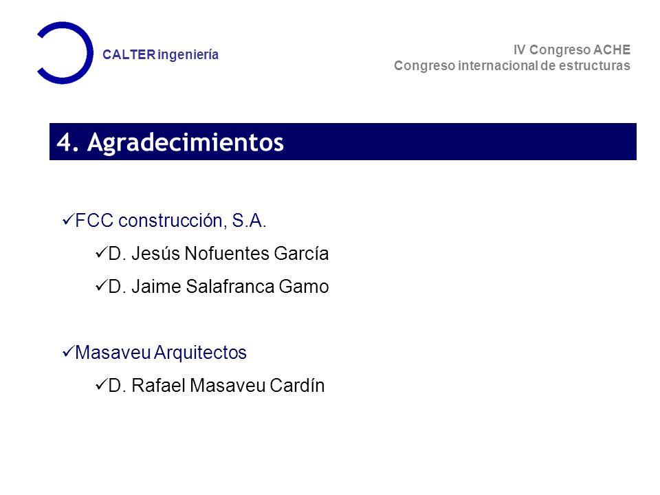 IV Congreso ACHE Congreso internacional de estructuras CALTER ingeniería 4.