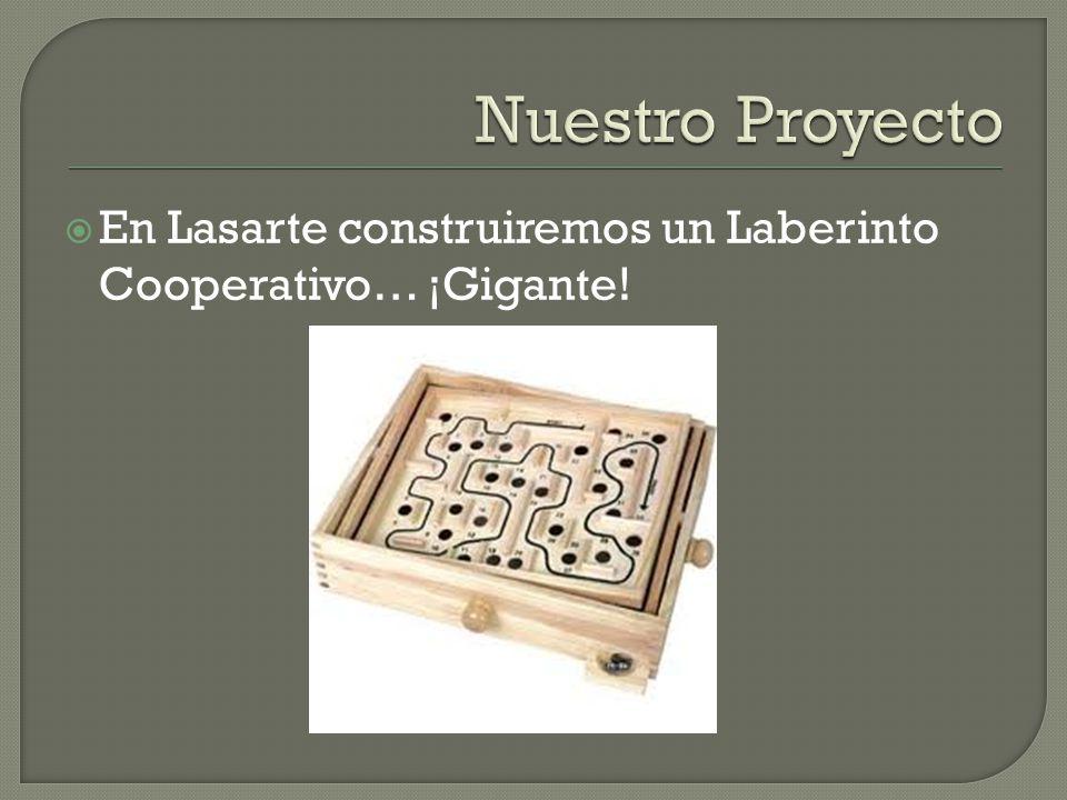 En Lasarte construiremos un Laberinto Cooperativo… ¡Gigante!