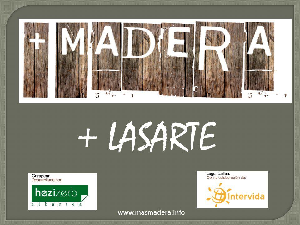 + LASARTE www.masmadera.info