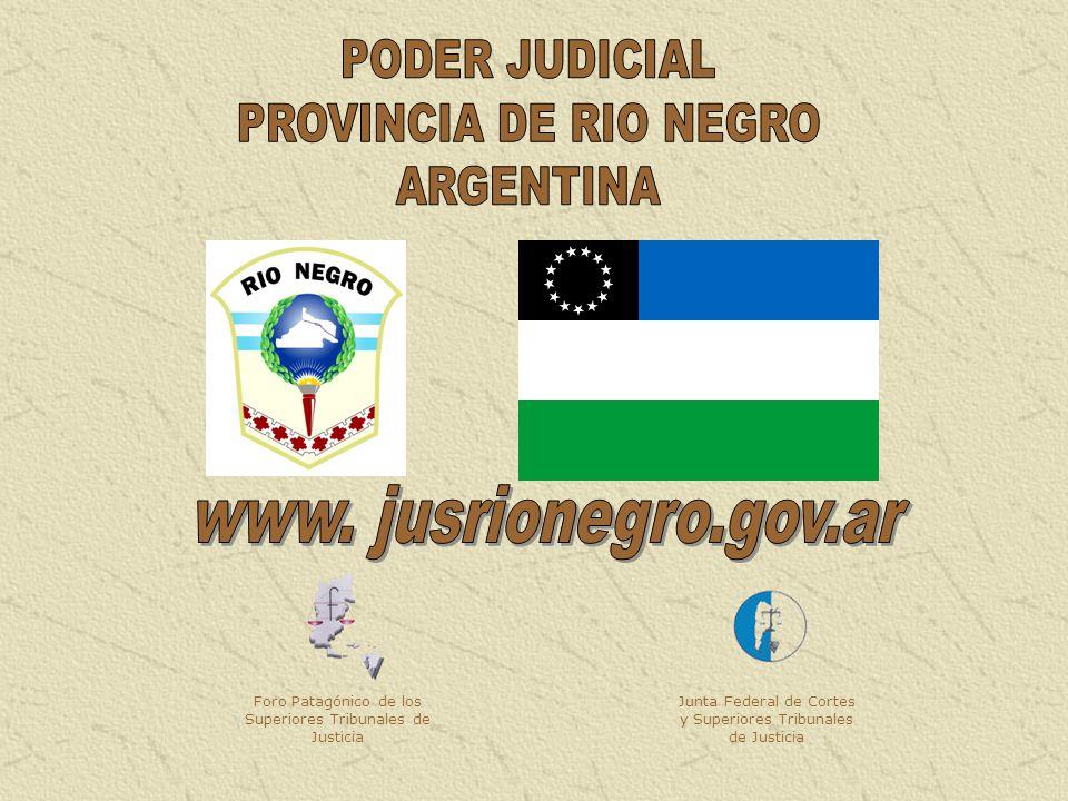 Foro Patagónico de los Superiores Tribunales de Justicia Junta Federal de Cortes y Superiores Tribunales de Justicia