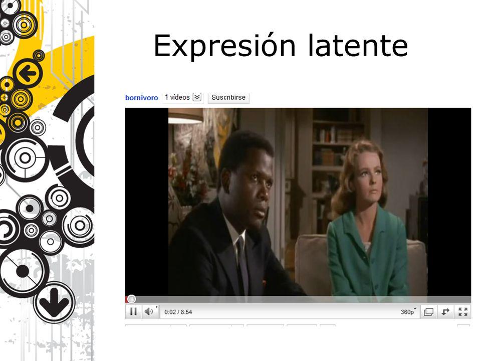 Expresión latente
