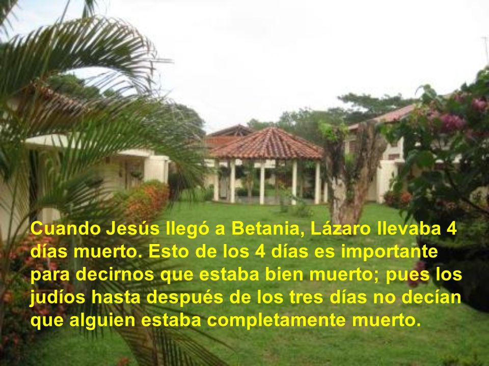 Entonces Jesús les dice: Y les explica que Lázaro ha muerto y que se alegra por ellos, porque así van a creer. Tomás muestra una gran valentía diciend