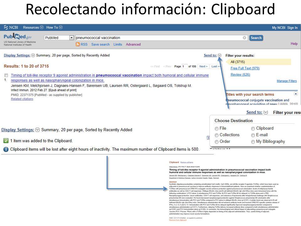 Recolectando información: Clipboard