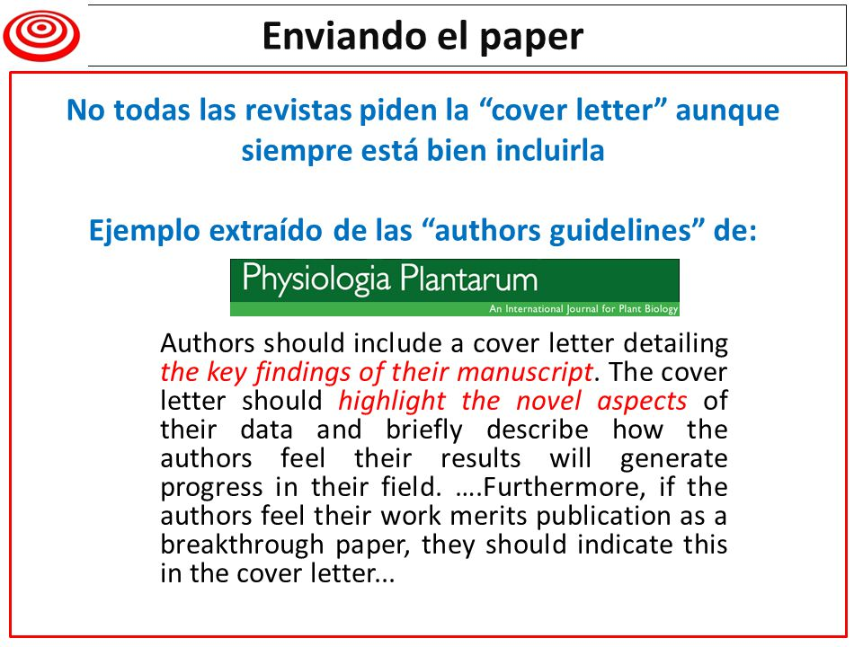 Authors should include a cover letter detailing the key findings of their manuscript. The cover letter should highlight the novel aspects of their dat