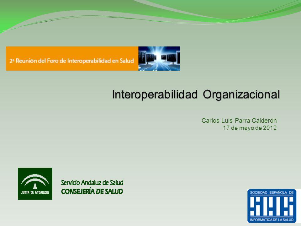 Avances en el seno de HL7: Healthcare Services Specification Project (HSSP) La Granja, 17 de Mayo de 2012II Foro de Interoperabilidad de la SEIS 22
