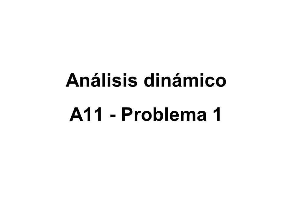 Análisis dinámico A11 - Problema 1