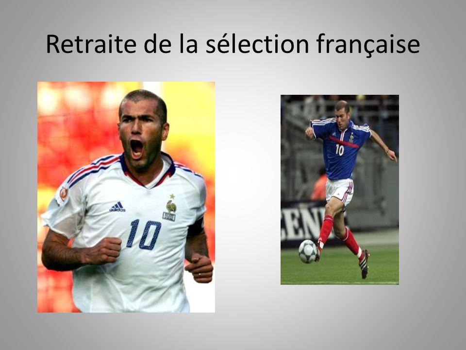 Retraite de la sélection française