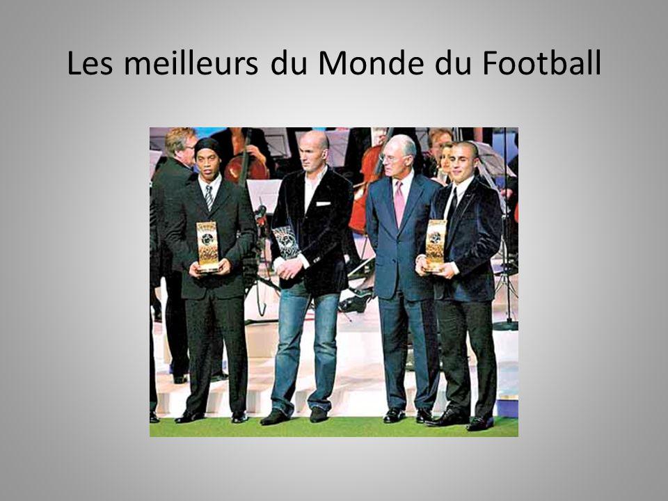 Les meilleurs du Monde du Football