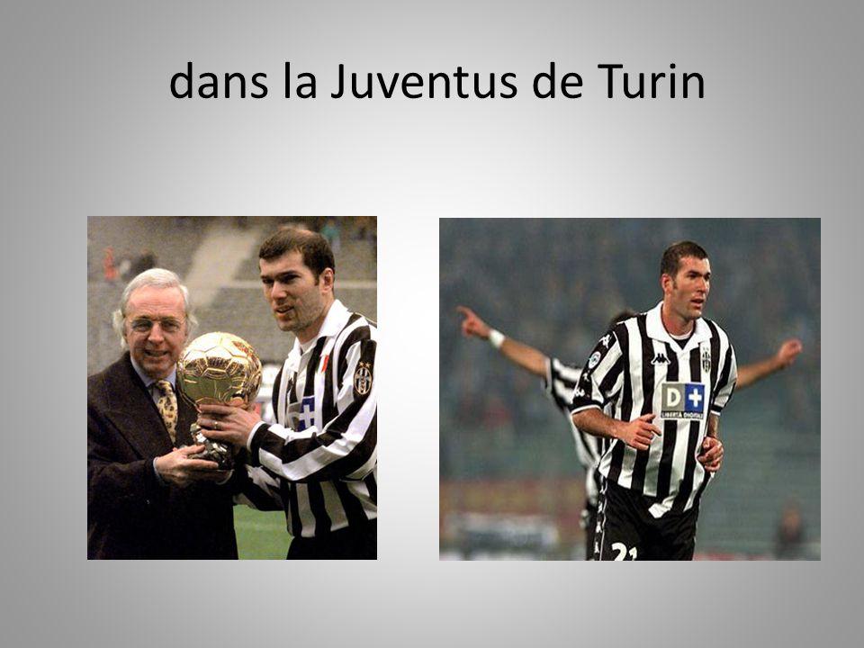 dans la Juventus de Turin