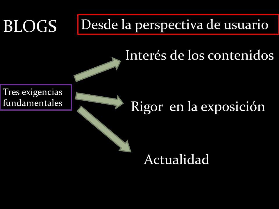 BLOGS Desde la perspectiva del diseñador Ocho razones para crear un blog 1.