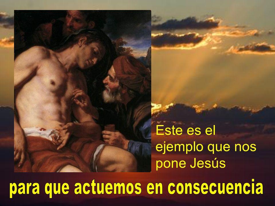 Jesús le dijo, y nos dice a todos nosotros: